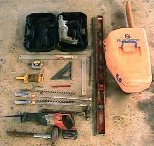 Tools for Timber Wall