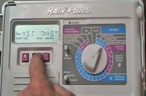Programming Rainbird Sprinkler System Controller