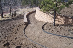 Steel Landscape Edging Installed